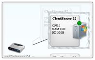 pannello controllo web server.