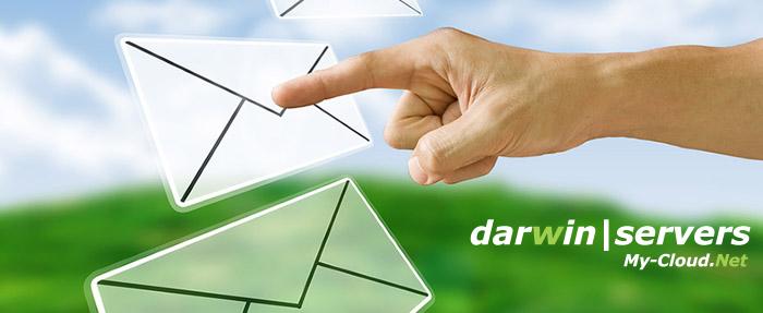 email con dominio, darwin servers.