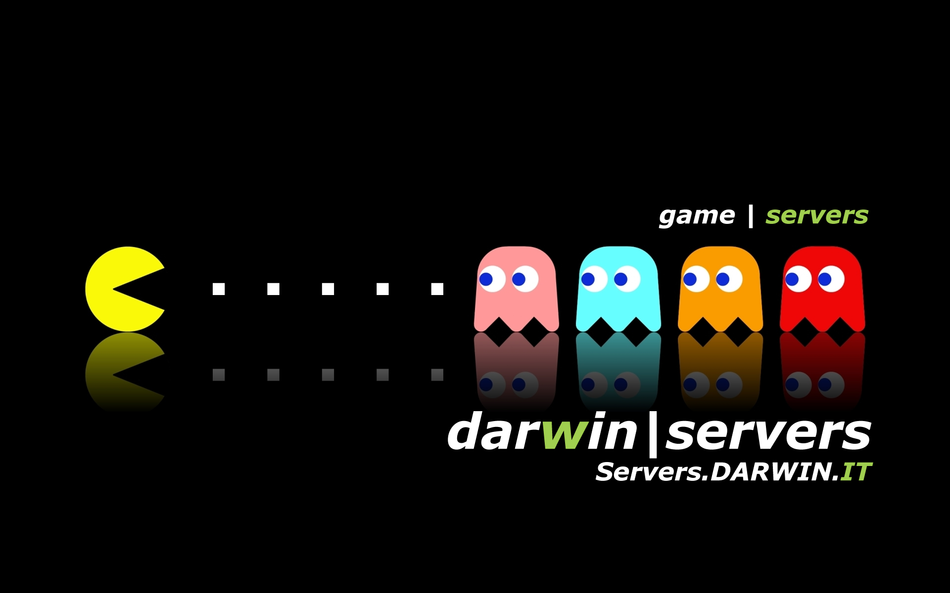 game server darwin, server dedicato per gaming.